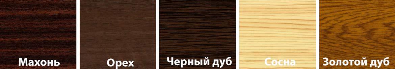 Roto - цвета ламинации ПВХ мансардных окон Рото